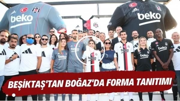 'Beşiktaş, 2021-2022 sezonu formalarını Boğaz'da tanıttı