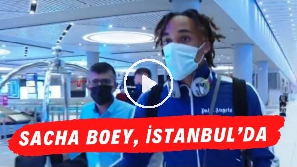 'Galatasaray'ın yeni transferi Sacha Boey, İstanbul'da