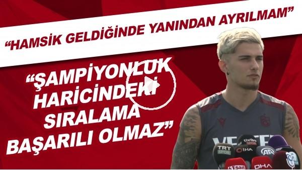 """'Berat Özdemir: """"Şampiyonluk haricindeki sıralama başarı olmaz, Hamsik geldiğinde yanından ayrılmam"""""""