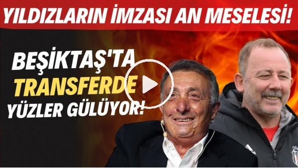 'Beşiktaş'ta transferde yüzler gülüyor! Yıldızların imzası an meselesi..