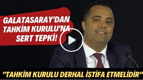 """' Galatasaray'dan Tahkim Kurulu'na sert tepki! """"Bizden intikam almaya çalışıyorlar"""""""