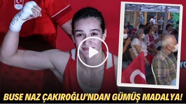 Buse Naz Çakıroğlu tarih yazdı   Ailesinin olimpiyat heyecanı