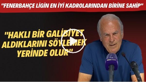 """'Mustafa Denizli: """"Fenerbahçe'nin haklı bir galibiyet aldığını da söylemek yerinde olur"""""""