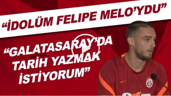 """'Berkan Kutlu: """"Galatasaray'da tarih yazmak istiyorum. İdolüm Felipe Melo'ydu"""""""