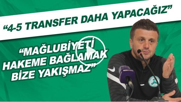 """'Giresunspor Teknik Direktörü Hakan Keleş: """"Mağlubiyeti hakeme bağlamak bize yakışmaz"""""""