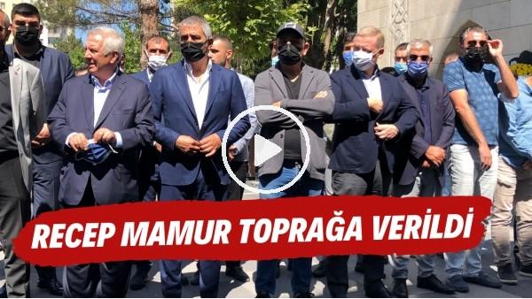 'Kayserispor Eski Başkanı Recep Mamur son yolculuğuna uğurlandı