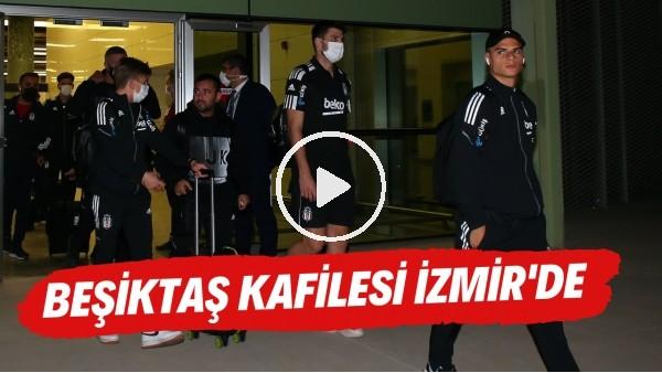 'Beşiktaş kafilesi Altay maçı için İzmir'e geldi | Sergen Yalçın'a taraftarlardan yoğun destek