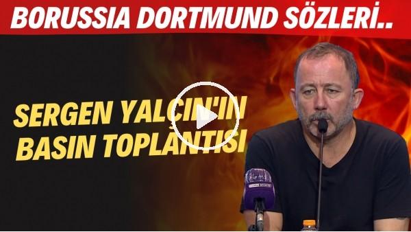 """'Sergen Yalçın'ın basın toplantısı: """"Pjanic'in kalitesini herkes görmüştür"""" - """"Batshuayi 20 gol atar"""""""