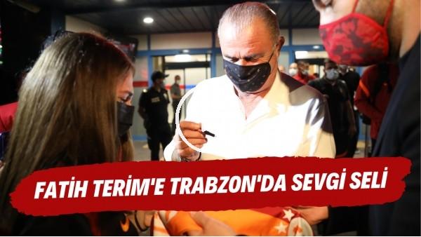 "'Fatih Terim'e Trabzon'da sevgi seli | ""Hocam size sarılabilir miyim?"""