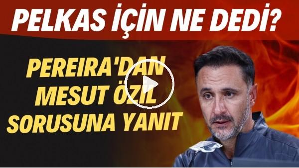 'Vitor Pereira'dan Mesut Özil sorusuna yanıt! Pelkas için ne dedi?