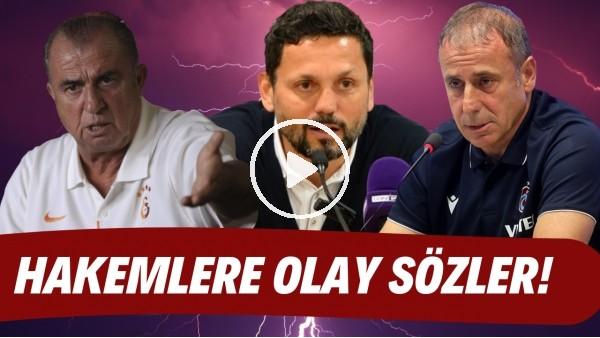 'Fatih Terim, Abdullah Avcı ve Erol Bulut'tan hakemlere OLAY sözler! Süper Lig'de haftaya damga vurdu
