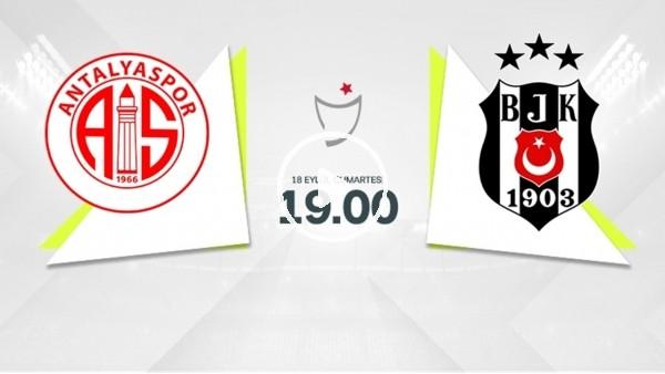 'CANLI  - MAÇ GÜNÜ | Antalyaspor - Beşiktaş