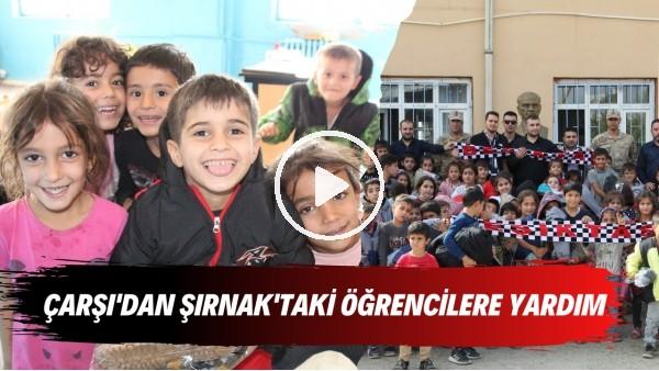'Beşiktaş taraftar grubu Çarşı'dan Şırnak'taki öğrencilere yardım