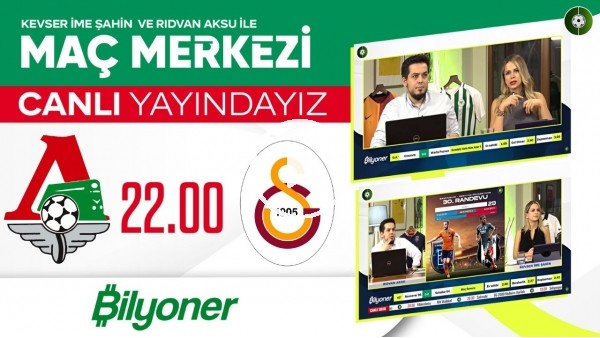 'Lokomotiv Moskova - Galatasaray | Maç Merkezi