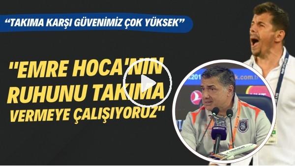 """'Erdinç Sözer: """"Emre Belözoğlu'nun ruhunu takıma vermeye çalışıyoruz"""""""