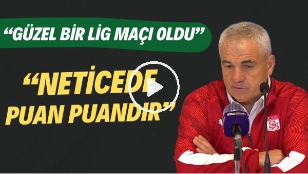 """' Rıza Çalımbay: """"Güzel bir lig maçı oldu. Neticede puan puandır"""""""