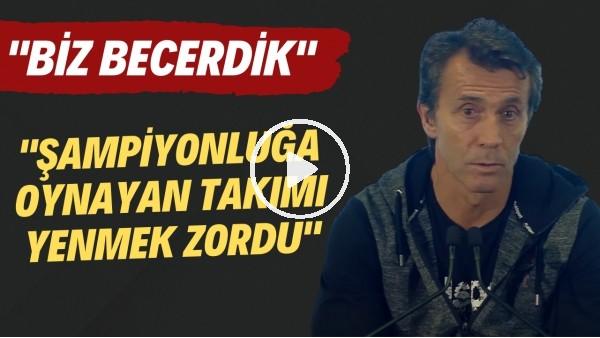 """'Bülent Korkmaz: """"Şampiyonluğa oynayan takımı yenmek zordu. Biz becerdik"""""""