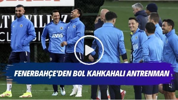 ' Fenerbahçe'den bol kahkahalı antrenman | Mert Hakan Yandaş takım arkadaşlarını güldürdü