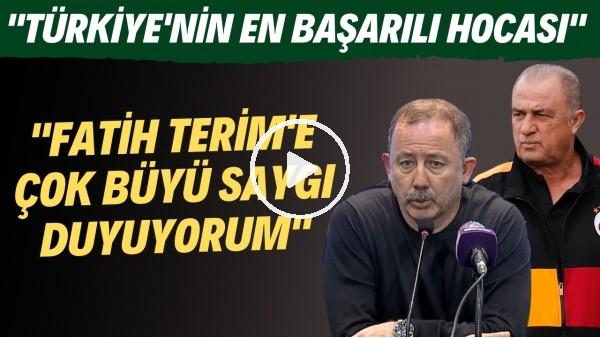 """'Sergen Yalçın: """"Fatih Terim'e çok büyük saygı duyuyorum. Türkiye'nin en başarılı hocası"""""""