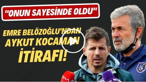 """'Emre Belözoğlu'dan Aykut Kocaman itirafı! """"Oyun sayesinde oldu"""""""