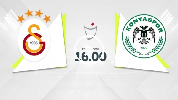 'MAÇ GÜNÜ | Galatasaray - Konyaspor